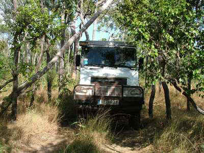 Bremach Cape York Side Tracks