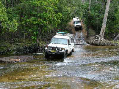 Bremach Cape York Cockatoo Creek