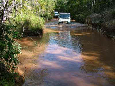 Bremach Cape York Ford Fruitbat Falls